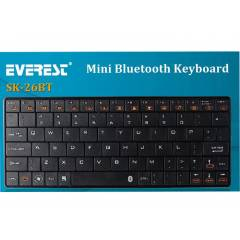 Everest KB-BT026 Beyaz Bluetooth Q Multimedia Ka