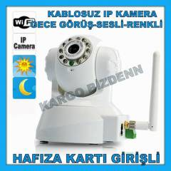 iP KAMERA KABLOSUZ WIRELESS KAMERA KART G�R��L�