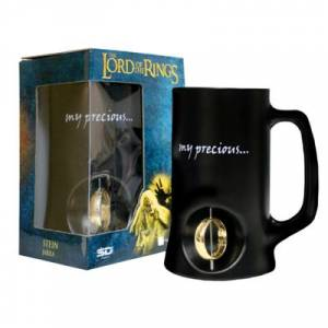 Lord of the Rings 3D Rotating Ring Stein Bardak