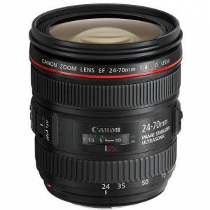 Canon EF 24 70mm f/4.0L IS USM Lens Canon Euro A