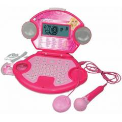 Barbie Mikrofonlu Cd li Laptop