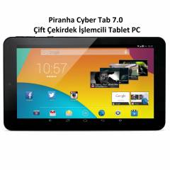 Piranha Cyber Tab 7.0 �ift �ekirdek Tablet PC