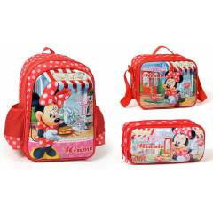 Minnie Mouse Okul �antas� Seti