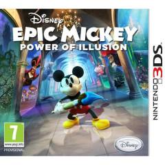 DISNEY EPIC MICKEY POWER OF ILLUSION 3DS OYUN