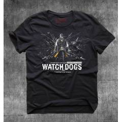 Gamedevil Watch Dogs Siyah Tshirt