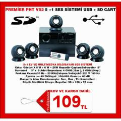 PREM�ER  5.1 SES S�STEM� KUMANDA+USB + SD CART