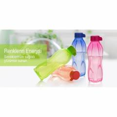 TUPPERWARE SULUK EKO ���E 500 ML 4 YEN� RENK +KA