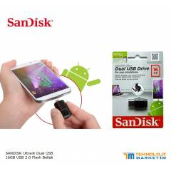 SANDISK 16GB DUAL USB OTG FLASH BELLEK DISK