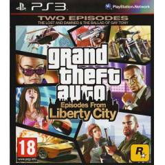 PS3 GTA  4 L�BERTY C�TY TWO EP�SODES PS3 OYUNU