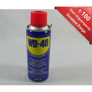 WD-40 Ya� ve Pas S�k�c� Sprey 200 ml