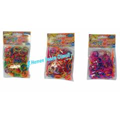 Rainbow Loom Band New Small Kutu 300 AD E�itici