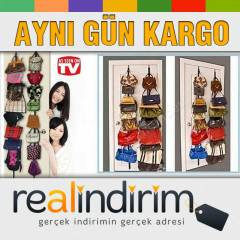 Bag Rack Kap� Arkas� �anta Ask�s� 16'LI