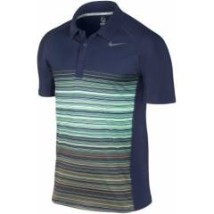 N�KE ERKEK POLO YAKA T���RT 523077-410 UV STRIPE