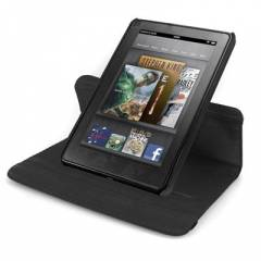 Rotating Stand Deri K�l�f  Amazon Kindle Fire
