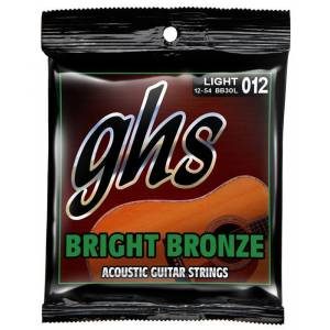 GHS BB30L Akustik Gitar Tel Light 0.12
