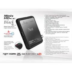 Next Minix Full HD Black,Plus Uydu Al�c�s�