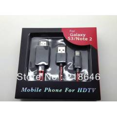 Samsung Galaxy NOTE 2 S3  Hdmi Tv Kablo mhl kabl