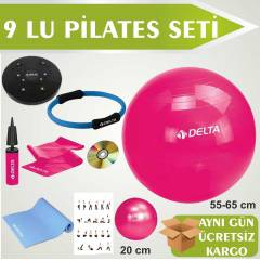 DELTA P�LATES SET� 9LU �EMBER-M�NDER-TW�STER