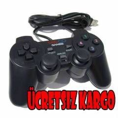 Tasco Analog Pc Joystick-kol-Titreti�imli-