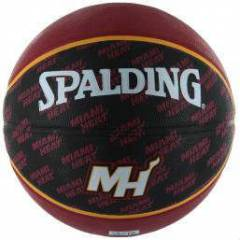SPALDING NBA TEAM MIAMI HEAT BASKETBOL TOPU SZ7