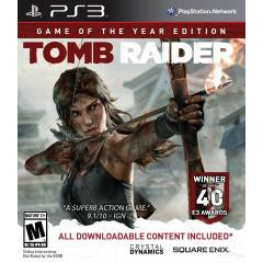 TOMB RAIDER PS3 OYUN GOTYE
