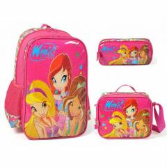 Winx Superfriends Hearts okul �antas� full set