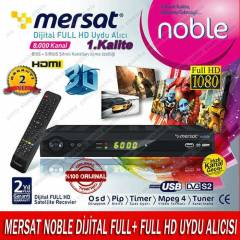 MERSAT NOBLE D�J�TAL FULL+ FULL HD UYDU ALICISI