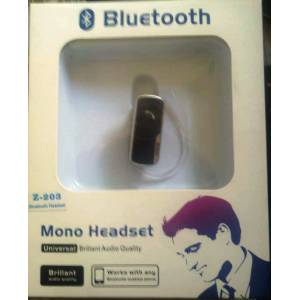 Z-203 Bluetooth Kulakl�k Lg iphone Samsung Nokia