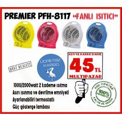 FAN LI ISITICI PREM�ER PFH- 8117  FAN HEATER