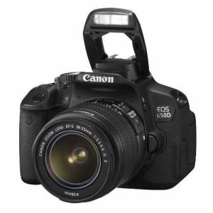 Canon Eos 650D 18 135 IS Lensli Foto�raf Makines