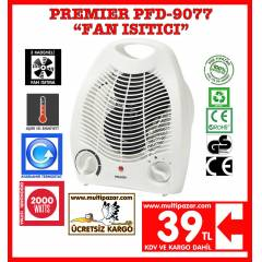 FAN LI ISITICI PREM�ER PFD 9077  FAN HEATER