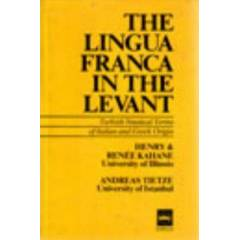 The Lingua Franca In The Levant