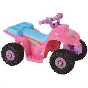 Denver Cars Rainbow 101 Ak�l� Atv 6v (Pembe)