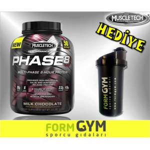 MUSCLETECH Phase8 Protein 2.1 kg + Shaker HED�YE