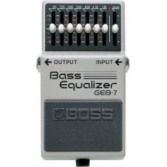 Boss GEB-7 Bass Equalizer Pedal� [DD]