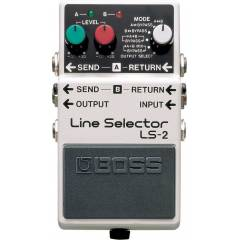 Boss LS-2 Line Selector Pedal� [DD]