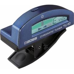 Boss TU-10 Blue Chromatic Tuner [DD]