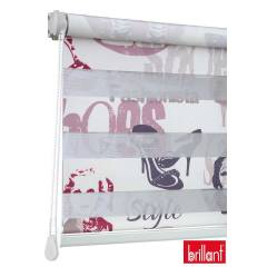 Brillant Zebra Stor Perde 160x200 Fashion Bask�