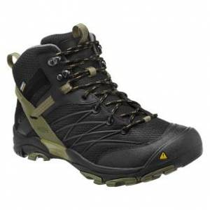 Marshall Mid WP Mens Outdoor Ayakkab� Black-Burn