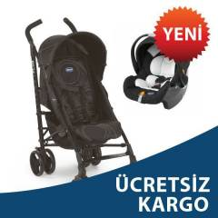 Chicco Lite Way Plus Travel  Bebek Arabas� Black