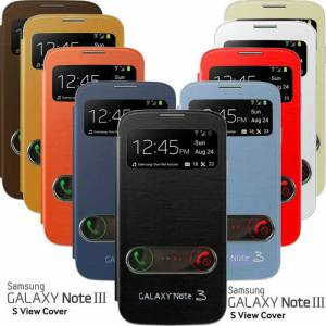 Galaxy Note 3 N9000 Fix Flip Cover K�l�f +3Film
