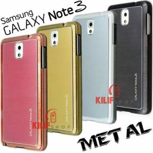 Galaxy Note 3 N9000 Metal Al�minyum K�l�f +3Film