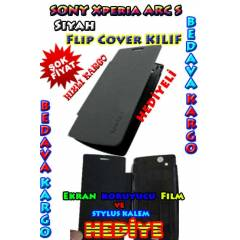 Sony Xperia Arc S K�l�f S�YAH Flip Cover