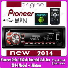 Pioneer Deh-1650UB Android+Mixtrax Usb Aux 2014
