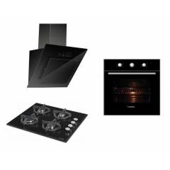 Luxell Lux touch 3'L� Ankastre Set