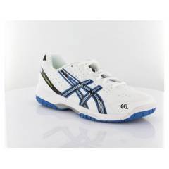 Asics E308Y GEL DEDICATE 3 WHITE BLACK ROYAL BLU