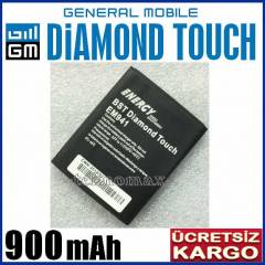 GENERAL D�AMOND TOUCH BATARYA 900 mAh EM941 P�L