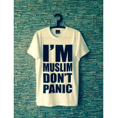NEW! �'M MUSL�M DON'T PAN�C T-SHIRT obey supra