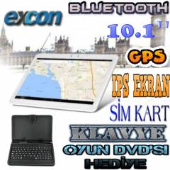 10.1 Sim Kart Gps Navigasyon Tablet Pc Bluetooth