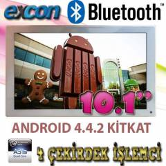Excon 10.1'' D�rt �ekirdekli Tablet Pc Bluetooth